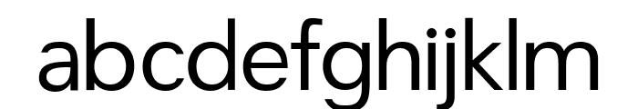 CrucifixSansOne Regular Font LOWERCASE