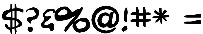 Crumb Font OTHER CHARS