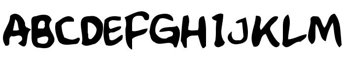 Crumb Font UPPERCASE