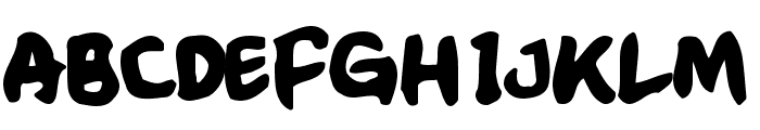CrumbBlack Font UPPERCASE