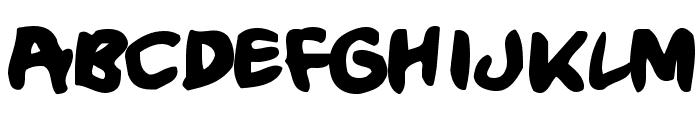CrumbBlack Font LOWERCASE