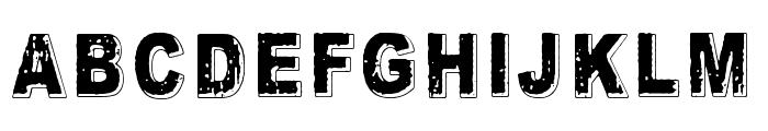 Crunch Bang Linx Font UPPERCASE
