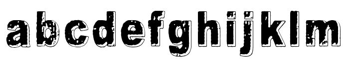 Crunch Bang Linx Font LOWERCASE