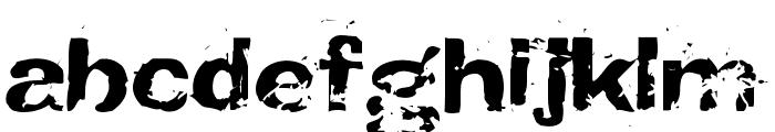 CrunchyFaxPhont Font LOWERCASE