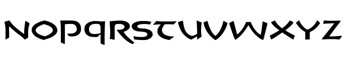CrushYourEnemies Book Font UPPERCASE