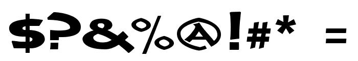 CrushYourEnemies ExtraBold Font OTHER CHARS