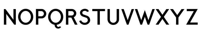 Crusoe Text Bold Font UPPERCASE