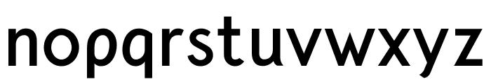 Crusoe Text Bold Font LOWERCASE