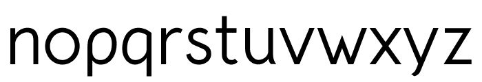 Crusoe Text Regular Font LOWERCASE