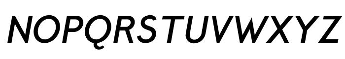 CrusoeText-BoldItalic Font UPPERCASE