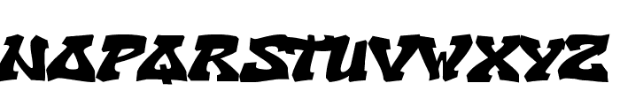 CryOneDUC Plain Font UPPERCASE