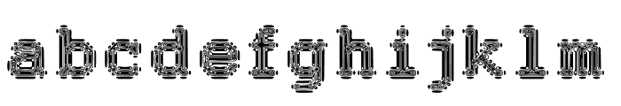 Cryeadn Font LOWERCASE
