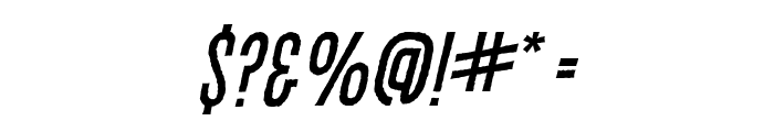 CryptCreepBB-Italic Font OTHER CHARS