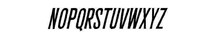CryptCreepBB-Italic Font UPPERCASE