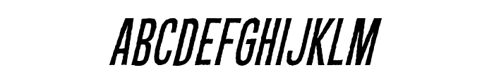 CryptCreepBB-Italic Font LOWERCASE