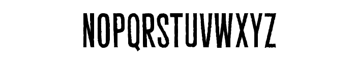 CryptCreepBB Font LOWERCASE