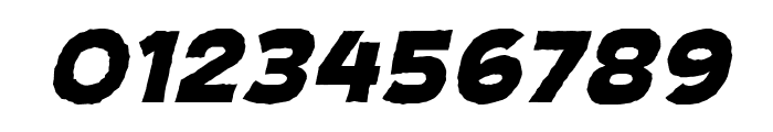CryptCreepHeavyBB-Italic Font OTHER CHARS