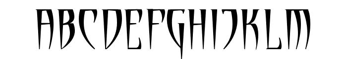 Cryptik Font UPPERCASE