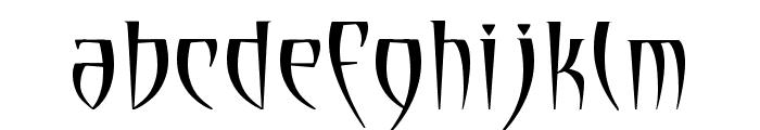 Cryptik Font LOWERCASE
