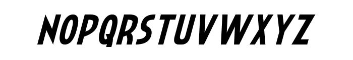 Crystal Deco Italic Font UPPERCASE
