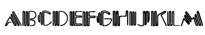 Crystal Gypsy Font UPPERCASE
