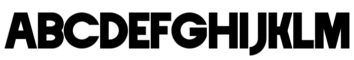 Crystal Lake Font UPPERCASE
