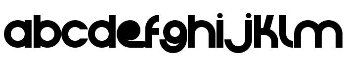 Crystal Lake Font LOWERCASE
