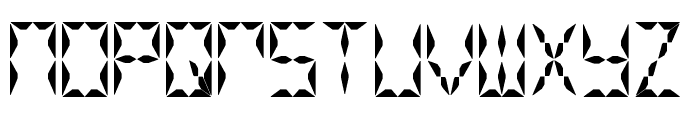 Crystal Watch Font LOWERCASE