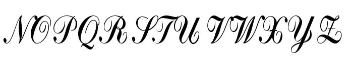 Crystal symphony Personal use Regular Font UPPERCASE