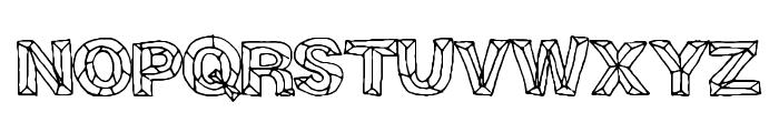 CrystalBreath Font UPPERCASE