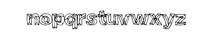 CrystalBreath Font LOWERCASE