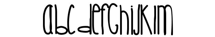 CrystalCastles Font LOWERCASE