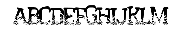 CrystalHouse Font UPPERCASE