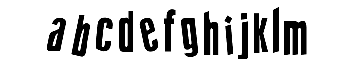 cRAZY sTYLE Font LOWERCASE