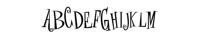 crAZYSCARYhalLowEeN Font LOWERCASE