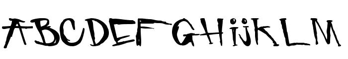 criminal security Font UPPERCASE