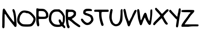 cringes Font UPPERCASE