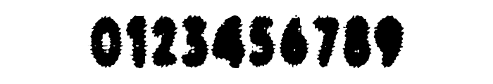 cronenberg Font OTHER CHARS