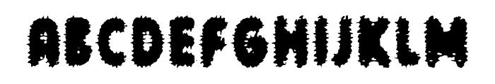cronenberg Font UPPERCASE