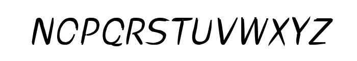 cru-visarut-new-Bold-italic Font UPPERCASE
