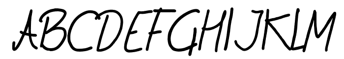 cryon Font UPPERCASE