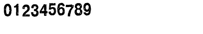 Crash Regular Font OTHER CHARS