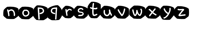 Cre ChocoCookie C Font LOWERCASE