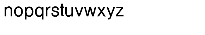 Cre Gothic Medium Font LOWERCASE