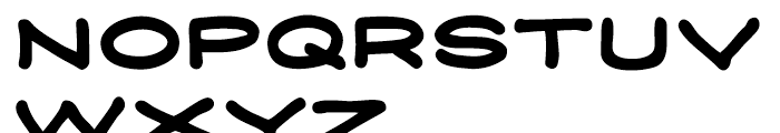 Credit Extension Rounded Bold Intl Font UPPERCASE