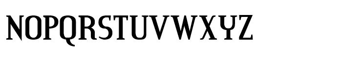 Credit River Regular Font UPPERCASE