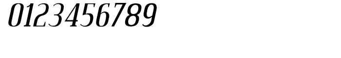 Credit Valley Italic Font OTHER CHARS