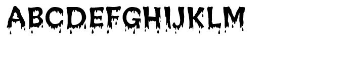 Creepy Regular Font UPPERCASE