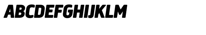 Creighton Black Italic Font UPPERCASE