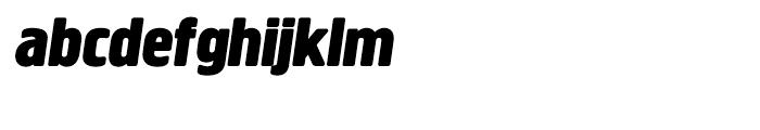 Creighton Black Italic Font LOWERCASE